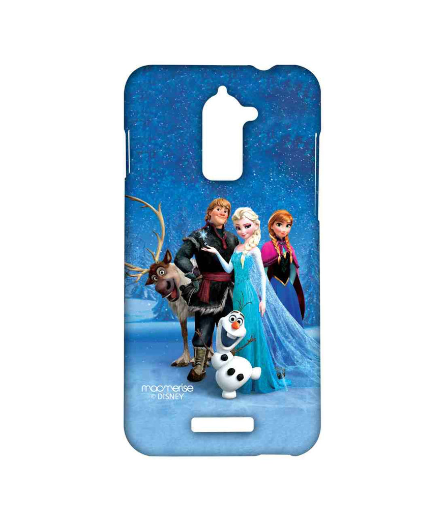 Disney Frozen Elsa Anna Olaf and Frozen Together Sublime Case for Coolpad Note 3 Lite