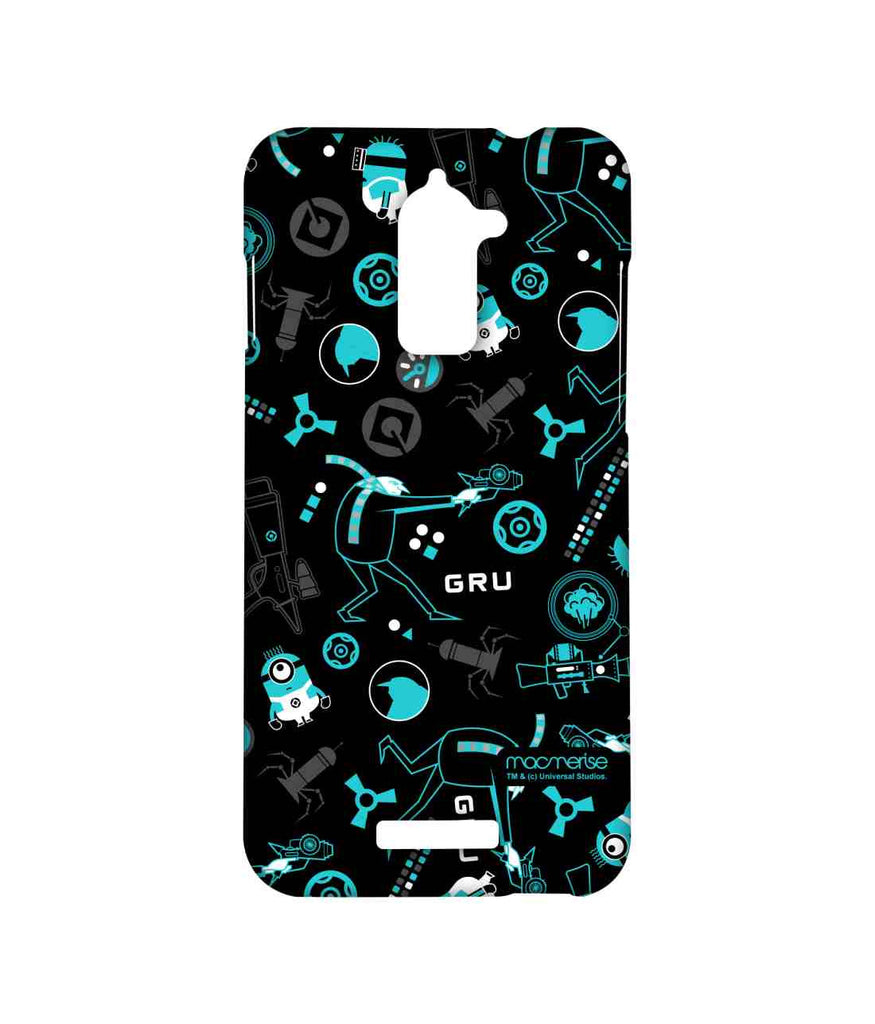 Despicable Me Minions Gru Mania Teal Sublime Case for Coolpad Note 3 Lite
