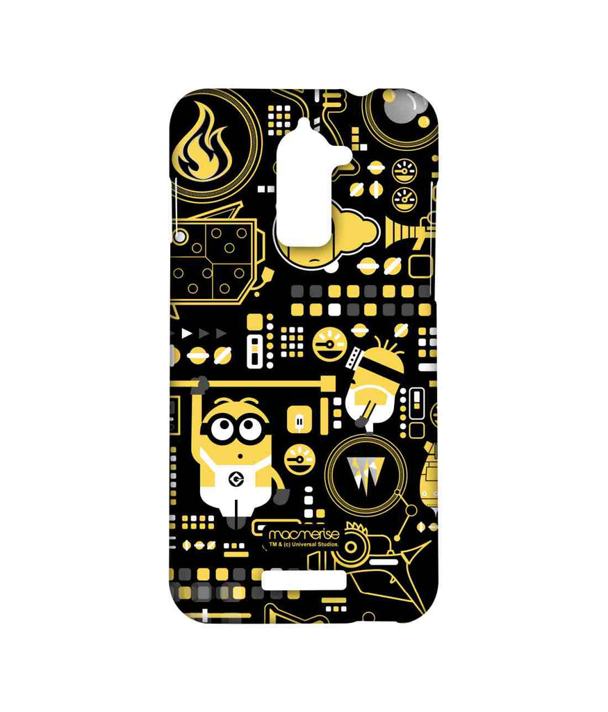 Despicable Me Minions Grus Work Mess Sublime Case for Coolpad Note 3 Lite