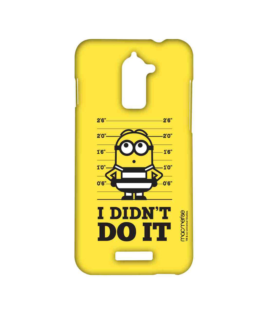 Despicable Me Minion Bob I Didn't Do It Sublime Case for Coolpad Note 3 Lite