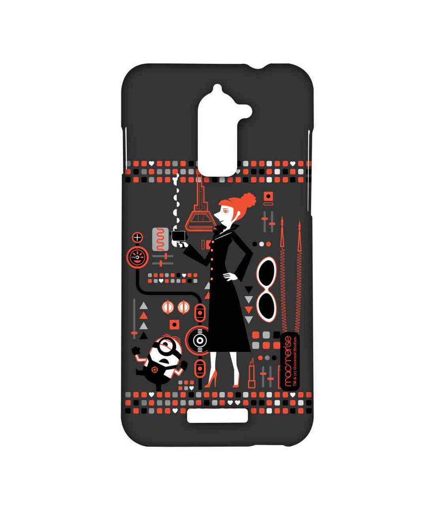 Despicable Me Lucy and Minion Stuart Lucy's Essentials Sublime Case for Coolpad Note 3 Lite