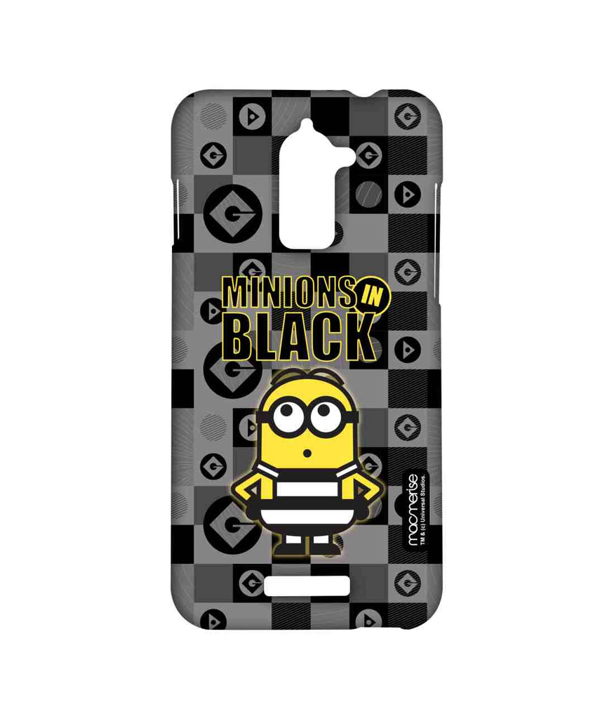 Despicable Me Minions In Black Sublime Case for Coolpad Note 3 Lite