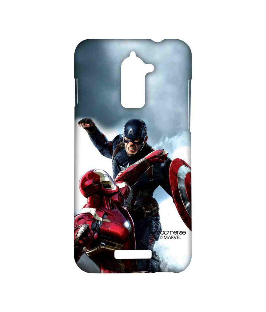 Captain America: Civil War Ironman and Captain America War is Here Sublime Case for Coolpad Note 3 Lite