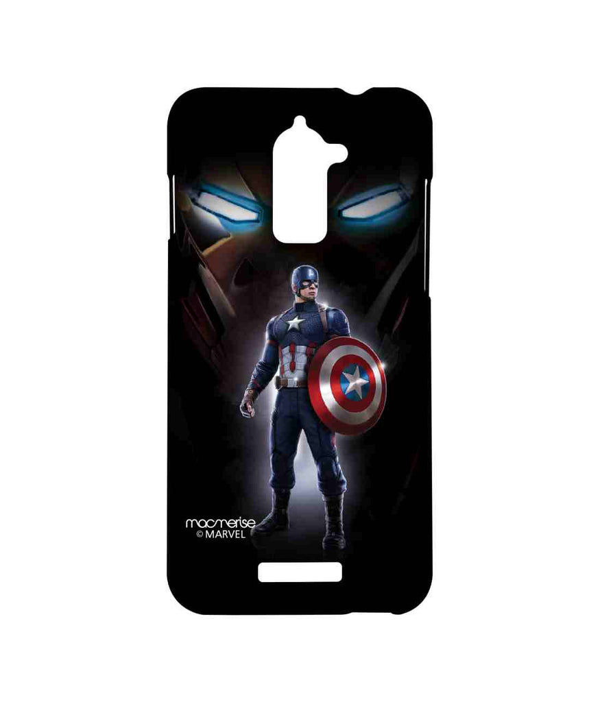 Captain America: Civil War Ironman and Captain America Watchful Captain America Sublime Case for Coolpad Note 3 Lite