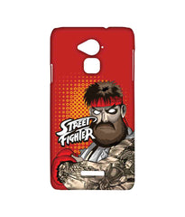 Street Fighter Beard Club  Street Fighter Ryu Sublime Case for Coolpad Note 3 Plus - Multicolor