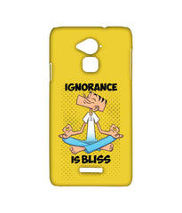 Suppandi Ignorance is bliss Sublime Case for Coolpad Note 3 Plus - Multicolor