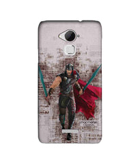 Thor in Action Sublime Case for Coolpad Note 3 Plus - Multicolor
