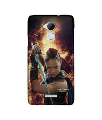 Thor Valkyrie in Action Sublime Case for Coolpad Note 3 Plus - Multicolor
