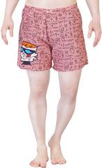 Dexter The Mathematician Red Boxer for Men