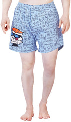 Dexter The Mathematician Blue Boxer for Men
