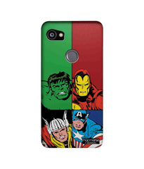 Avengers Mighty Avengers Sublime Case for Google Pixel 2 XL - Multicolor