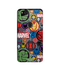 Marvel Iconic Mashup Sublime Case for Google Pixel 2 - Multicolor