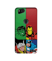 Avengers Mighty Avengers Sublime Case for Google Pixel 2 - Multicolor