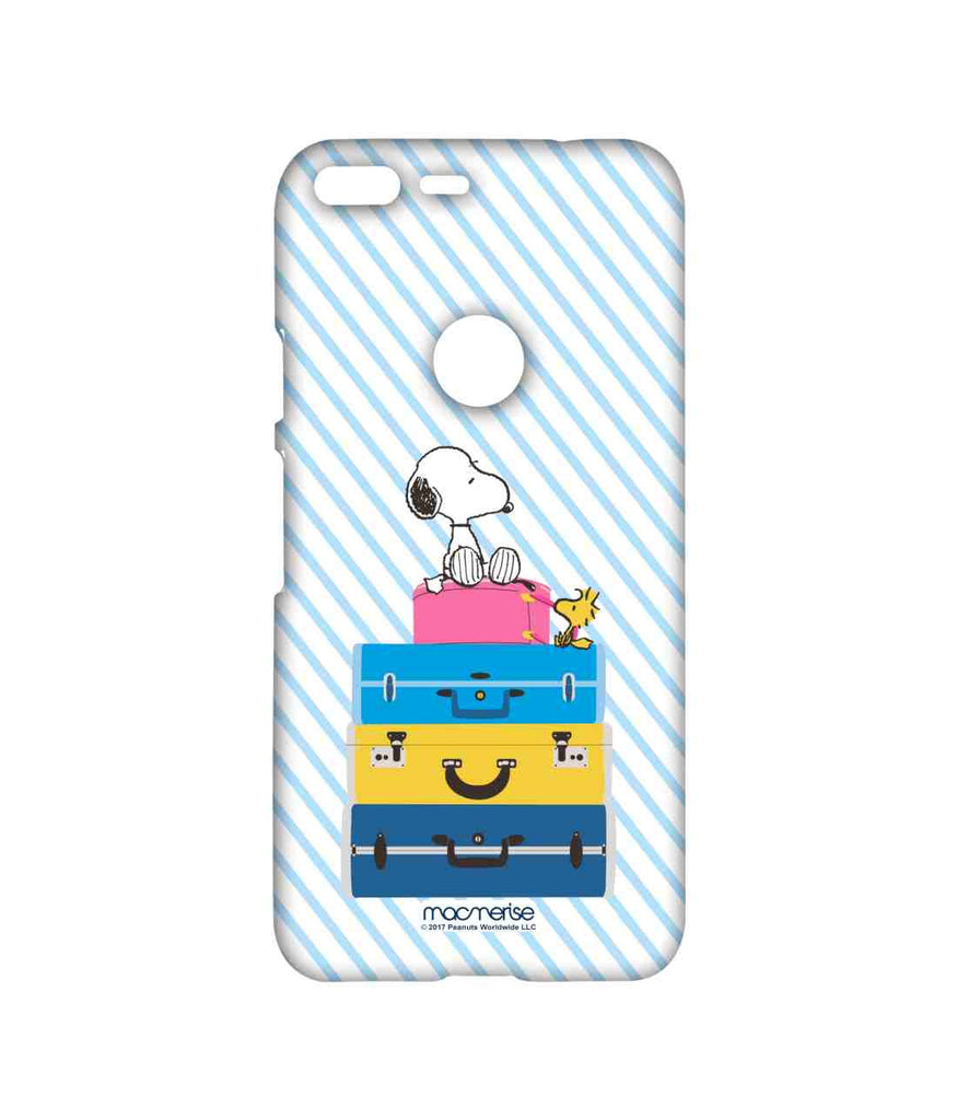 Snoopy All Packed Up Sublime Case for Google Pixel