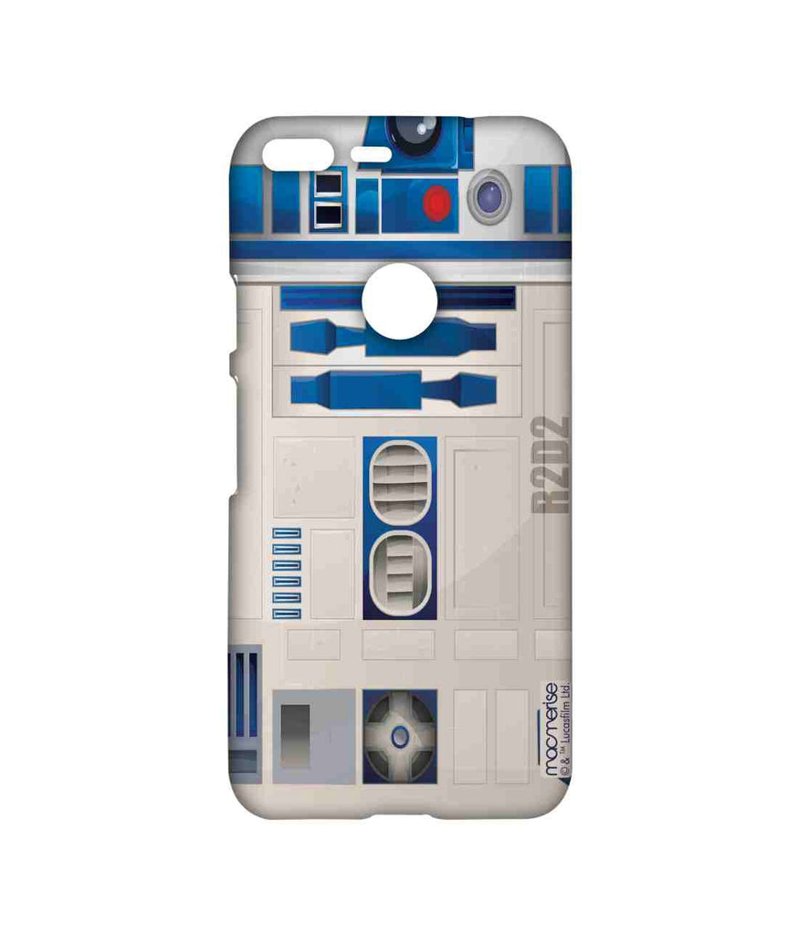 Star Wars R2D2 Attire R2D2 Sublime Case for Google Pixel