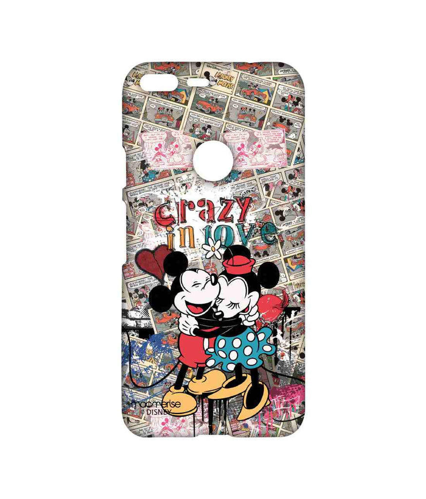 Disney Minnie Mouse and Mickey Mouse Crazy in love Sublime Case for Google Pixel