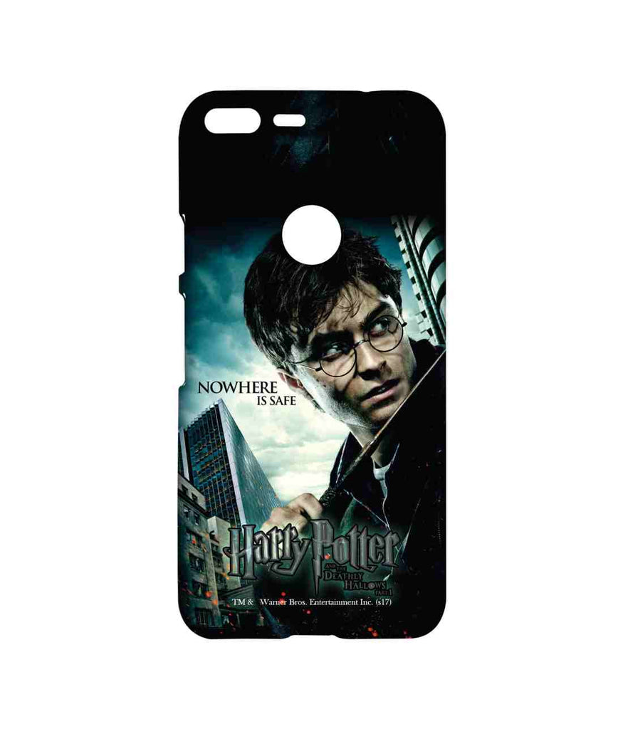 Harry Potter Harry Nowhere is Safe Sublime Case for Google Pixel
