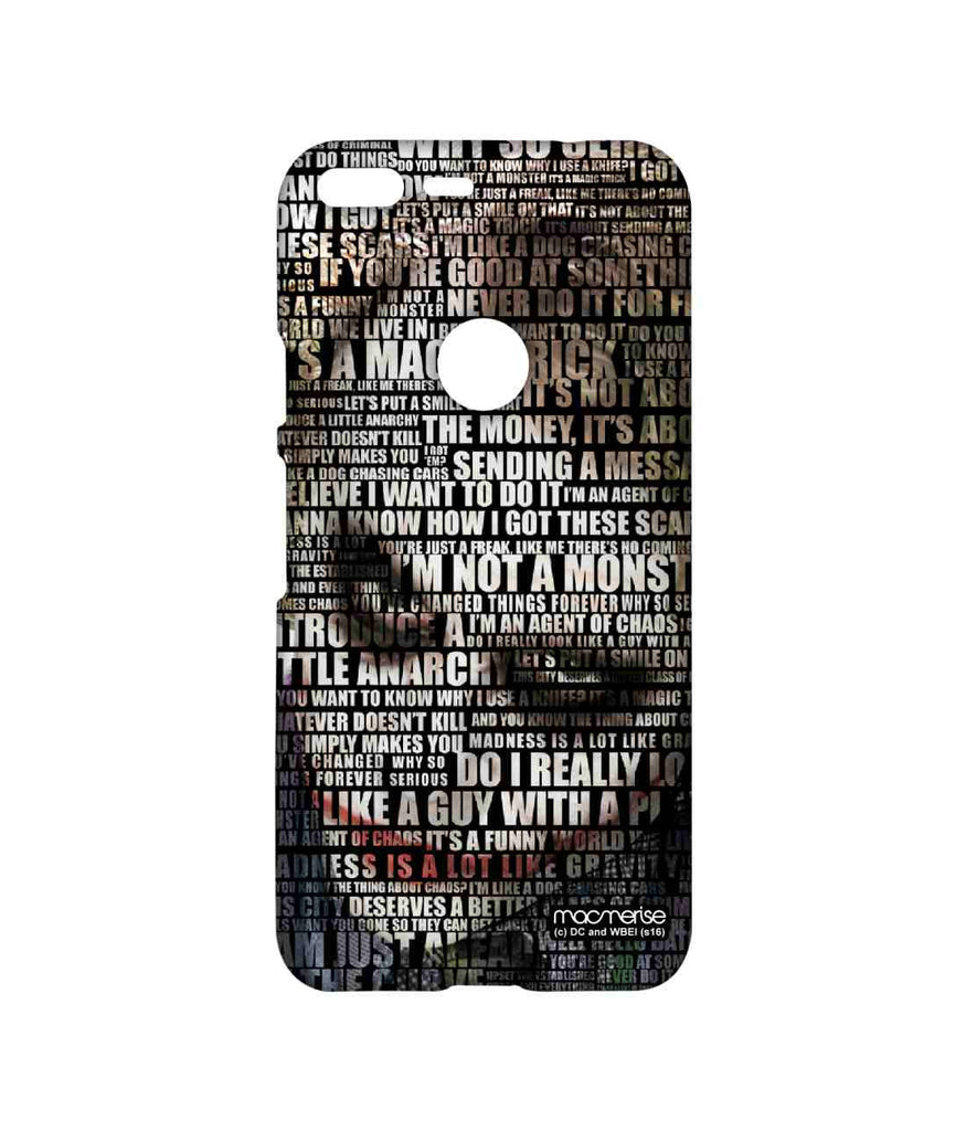 Batman The Dark Knight Joker Quotes Sublime Case for Google Pixel