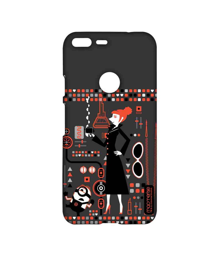 Despicable Me Lucy and Minion Stuart Lucy's Essentials Sublime Case for Google Pixel