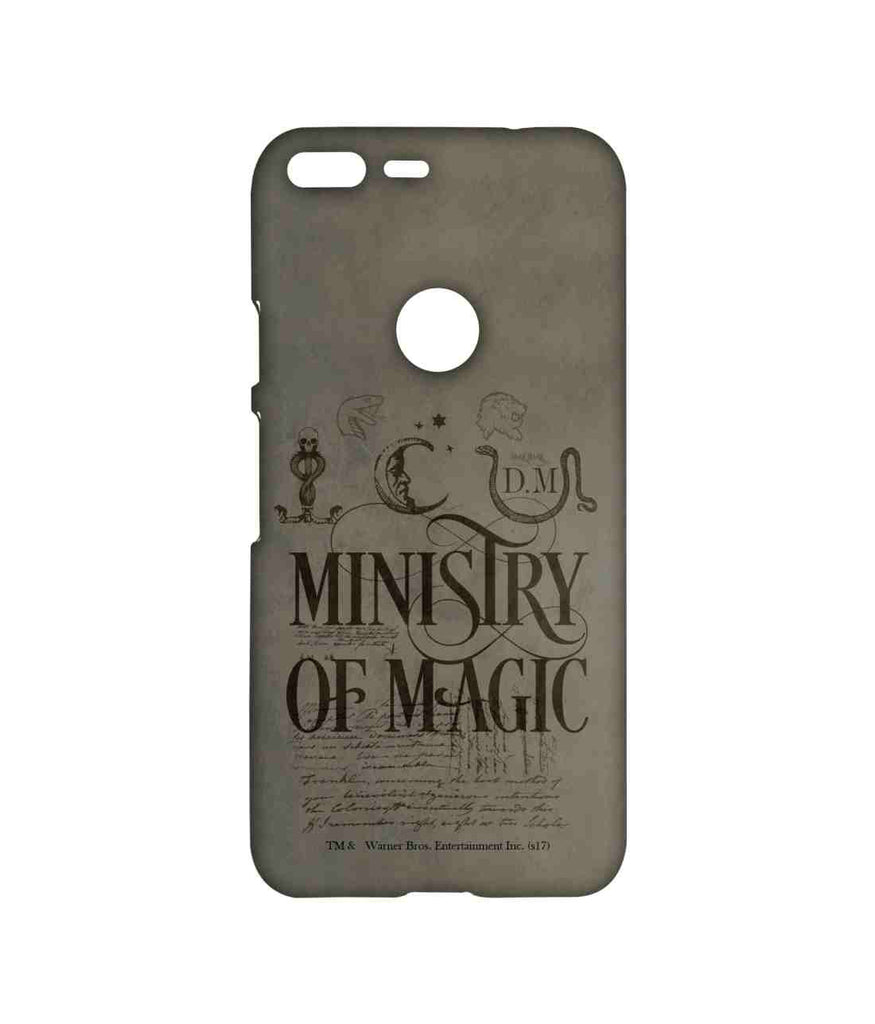 Harry Potter Ministry Of Magic Sublime Case for Google Pixel
