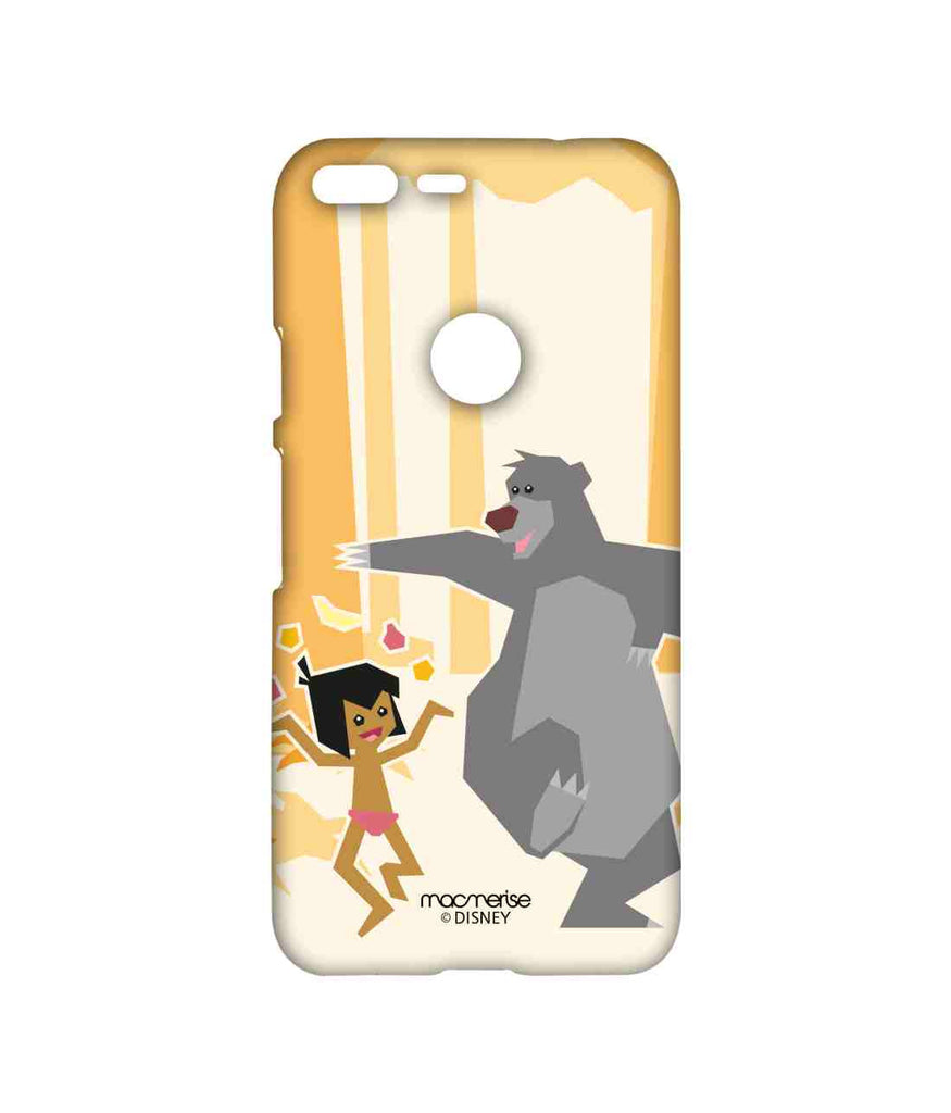 Disney The Jungle Book Mowgli and Baloo Mowglis Happy Dance Sublime Case for Google Pixel