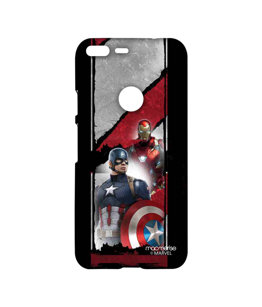 Captain America: Civil War Ironman and Captain America The Civil War Sublime Case for Google Pixel