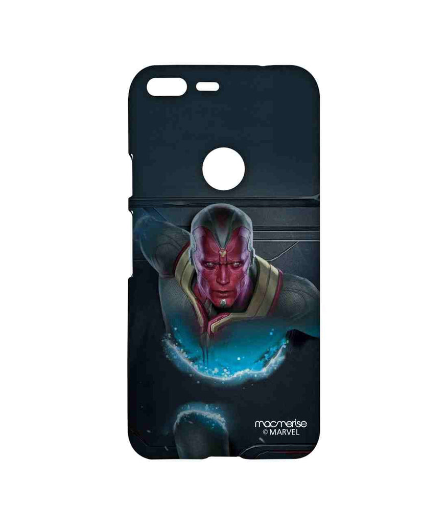 Captain America: Civil War Vision The Vision Stare Sublime Case for Google Pixel
