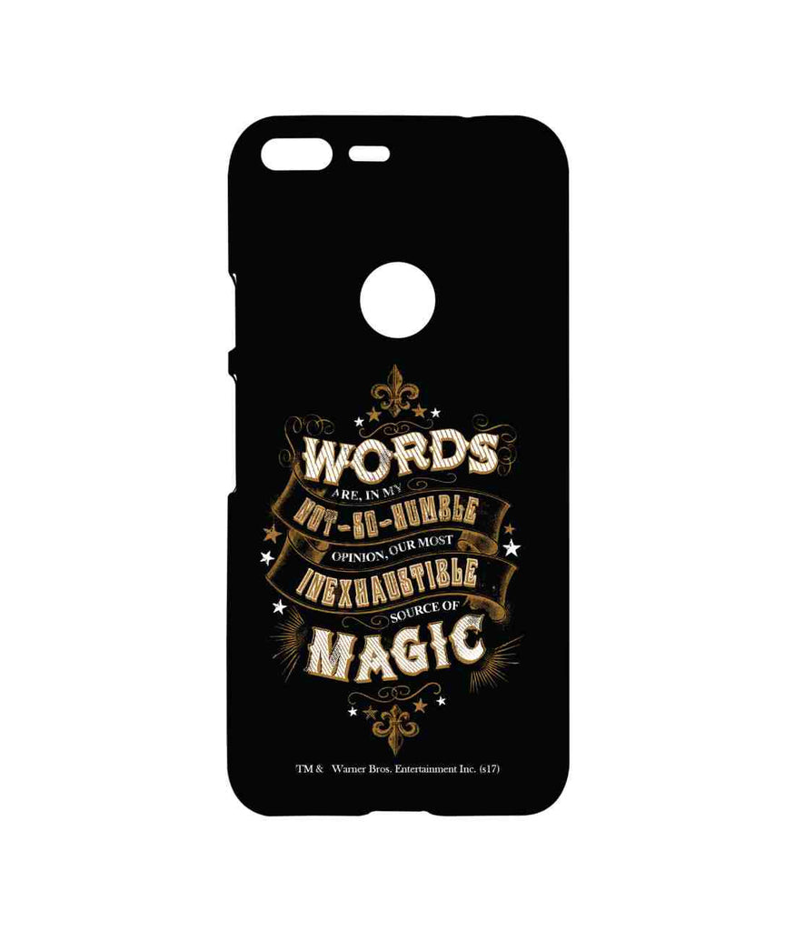 Harry Potter Words and Magic Sublime Case for Google Pixel