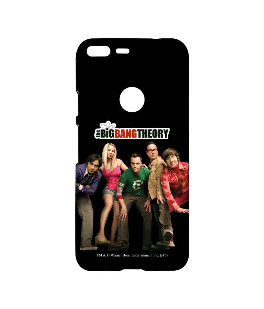 Big Bang Theory Leonard Sheldon Raj Howard and Penny BBT Swag Sublime Case for Google Pixel XL