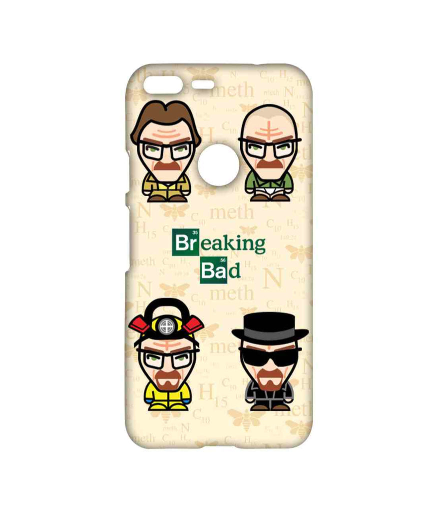 Breaking Bad Walter White Breaking Bad Caricatures Sublime Case for Google Pixel XL