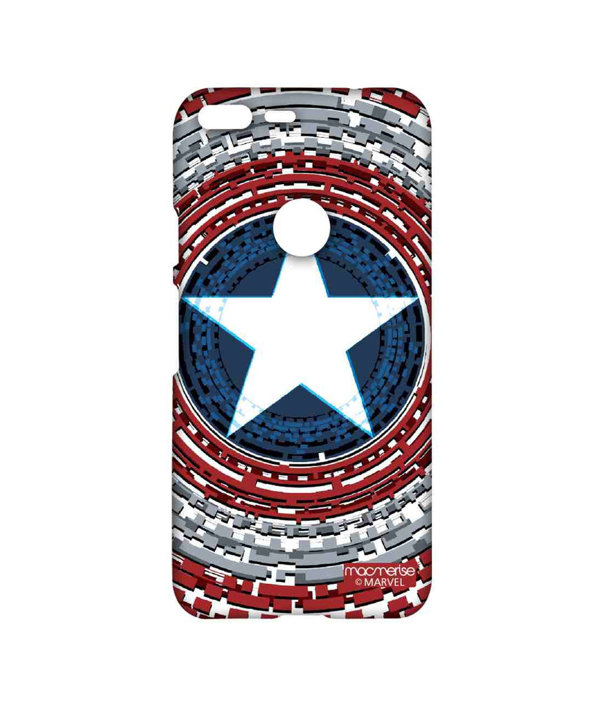 Civil War Captain America Captains Shield Engineered Sublime Case for Google Pixel XL