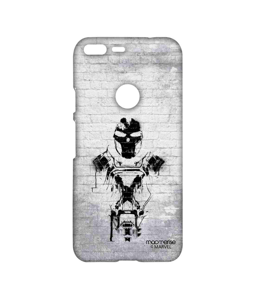 Captain America: Civil War Crossbones Brick Art Sublime Case for Google Pixel XL
