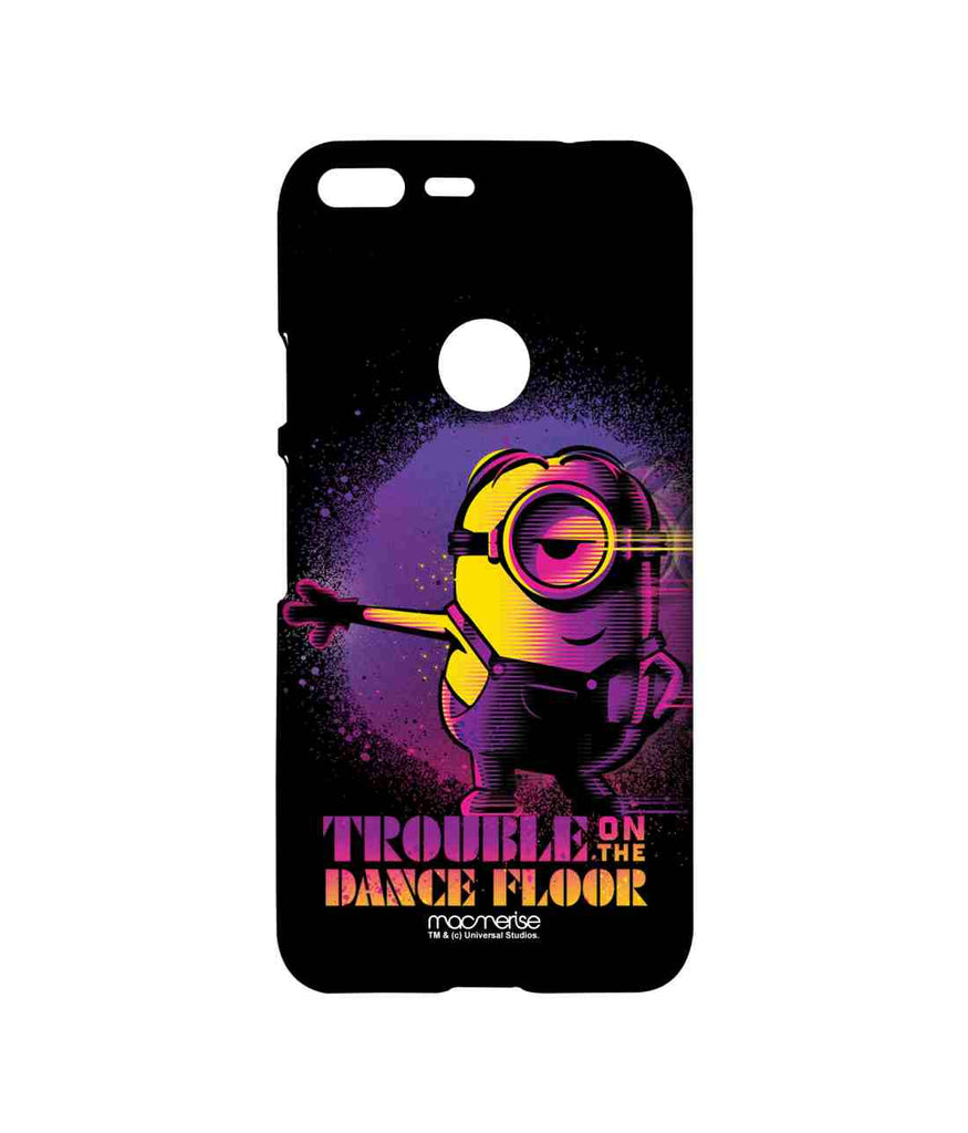 Despicable Me Minion Stuart Dance Floor Trouble Sublime Case for Google Pixel XL