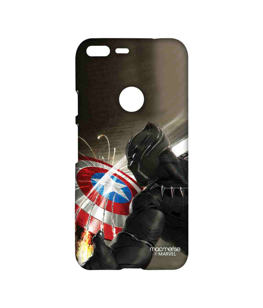 Captain America: Civil War Black Panther Destructive Panther Sublime Case for Google Pixel XL