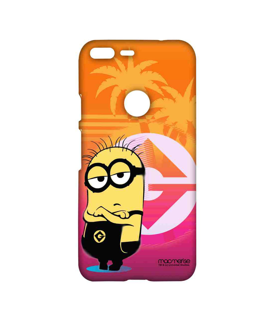 Despicable Me Minion Bob Gloomy Bob Sublime Case for Google Pixel XL