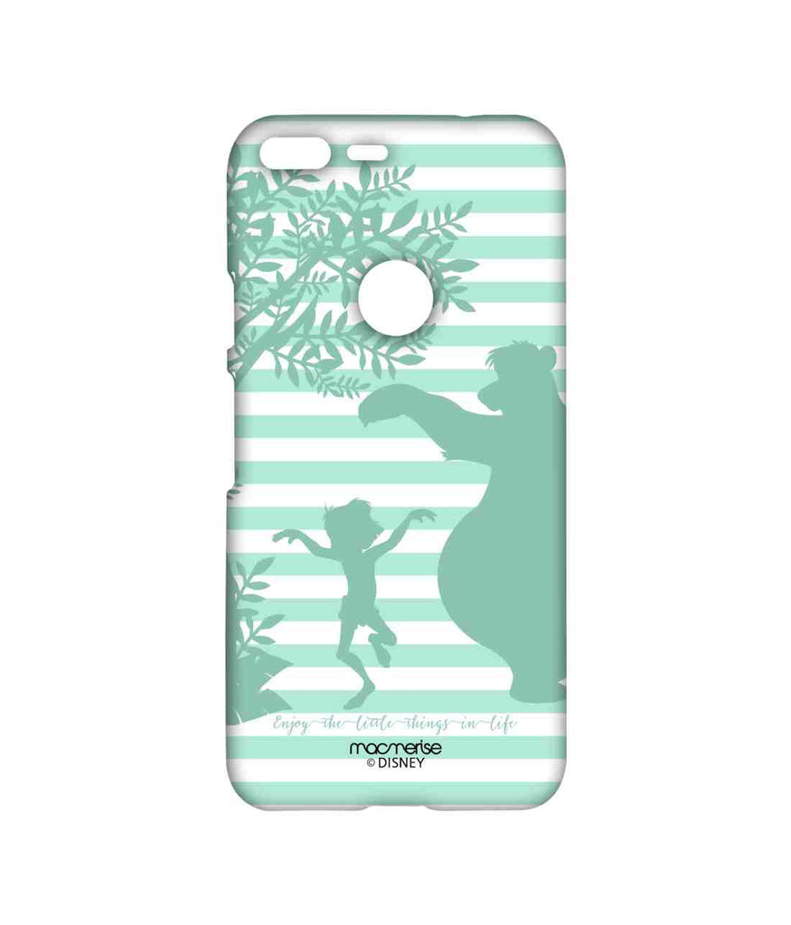 Disney The Jungle Book Mowgli and Baloo Mowgli and Baloo Stripes Sublime Case for Google Pixel XL