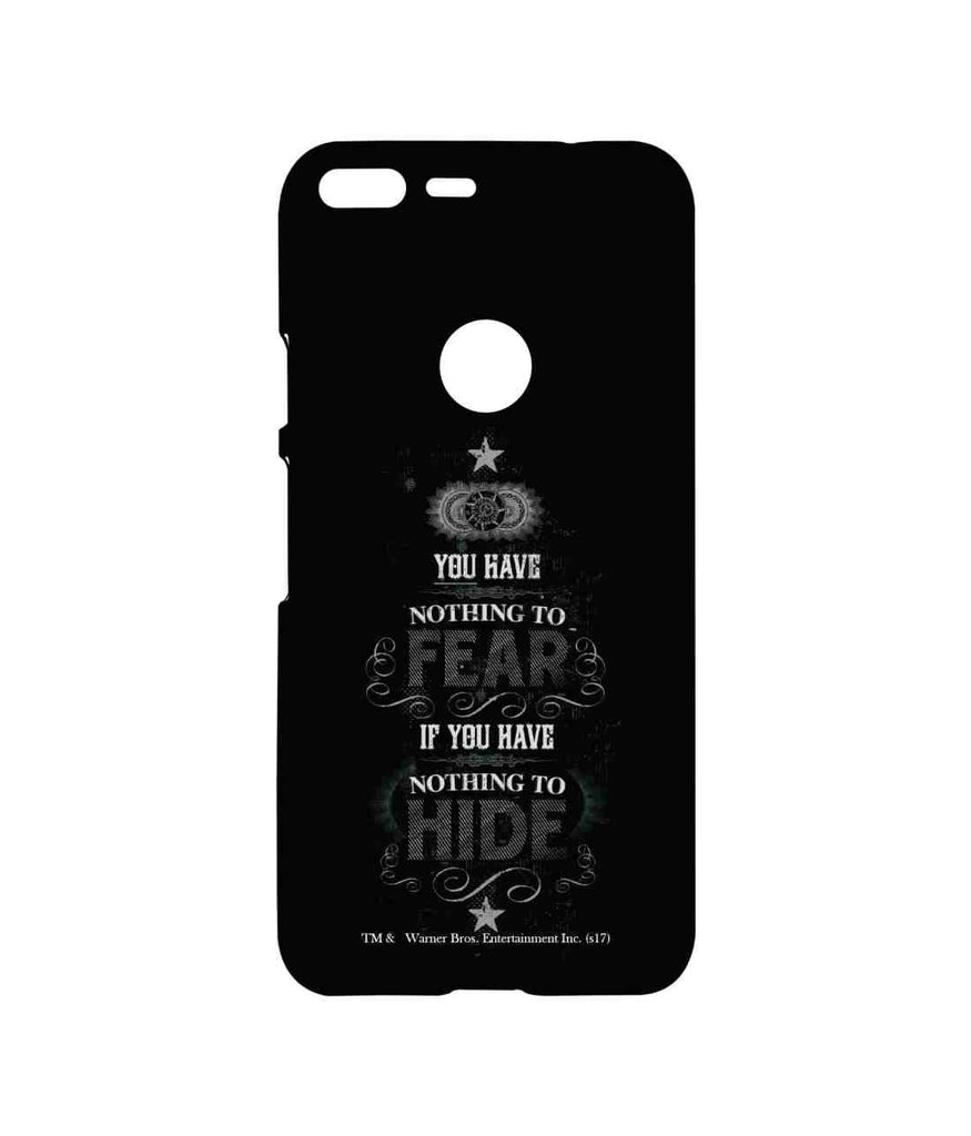 Harry Potter Nothing to Hide Sublime Case for Google Pixel XL