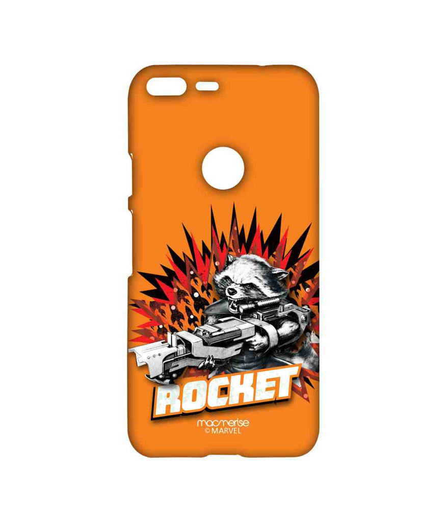 Guardians of the Galaxy Rocket Raccoon Rocket Power Sublime Case for Google Pixel XL