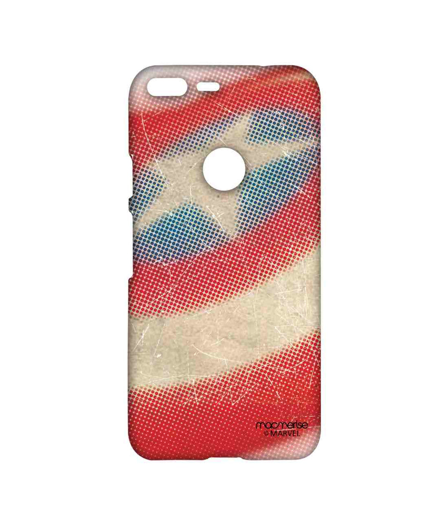 Civil War Captain America Rugged Shield Sublime Case for Google Pixel XL