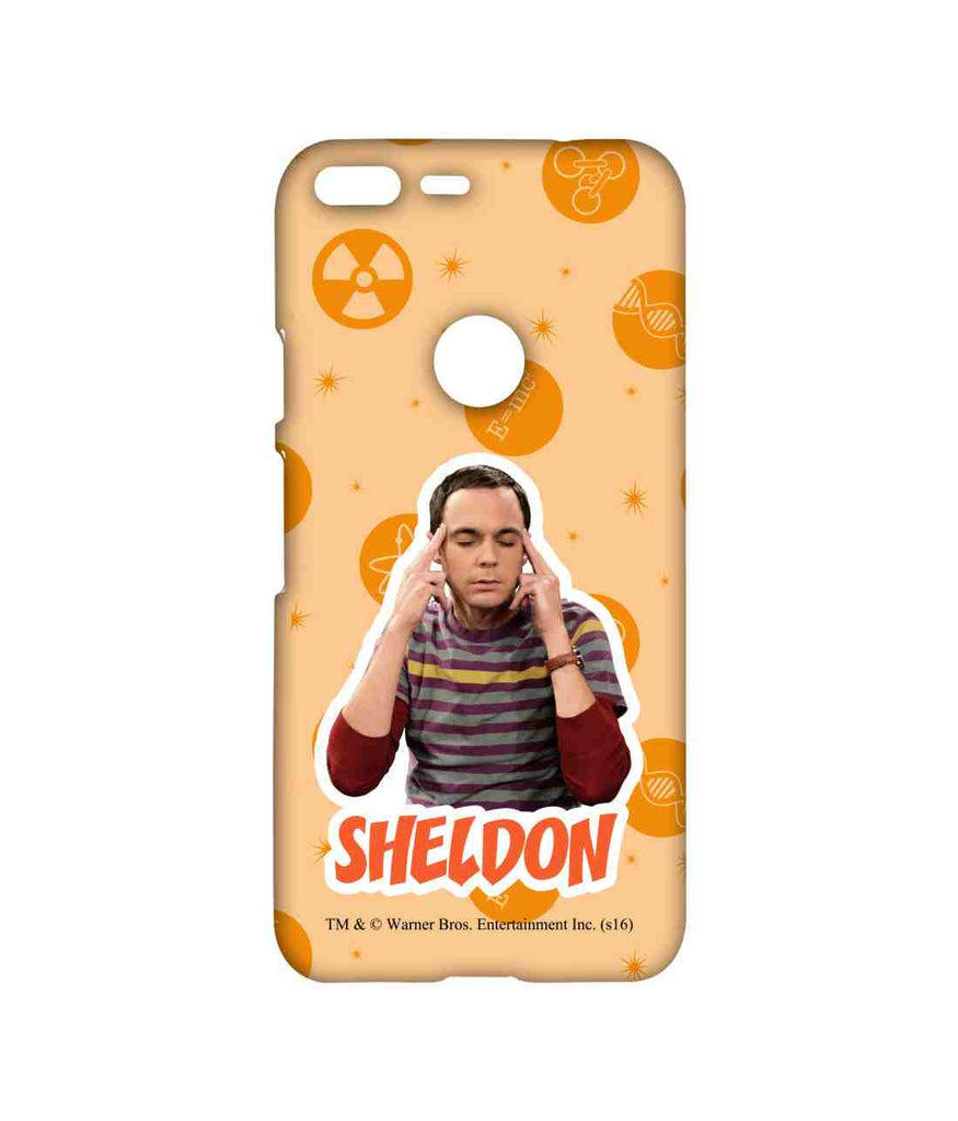Big Bang Theory Sheldon Explosion Sublime Case for Google Pixel XL