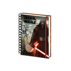 Star Wars Note Books - Ep7 Kyloren & A5 Notebook