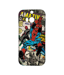 Comics Spiderman Comic Spidey Sublime Case for HTC One M8