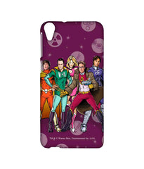 The Big Bang Theory Bbt Superheroes  Sublime Case For Htc Desire 820Q - Multicolor
