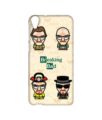 Breaking Bad Caricatures  Sublime Case For Htc Desire 820Q - Multicolor