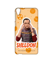 The Big Bang Theory Sheldon Explosion  Sublime Case For Htc Desire 820Q - Multicolor