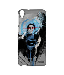 Superman Sketched Sublime Case For Htc Desire 820Q - Multicolor