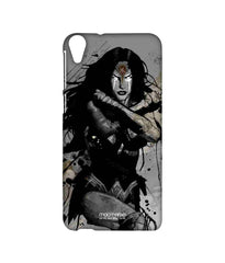 Wonder Woman Sketched Sublime Case For Htc Desire 820Q - Multicolor