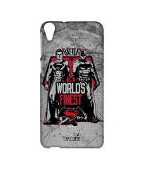 Batman V Superman: Dawn Of Justice Worlds Finest Sublime Case For Htc Desire 820Q - Multicolor
