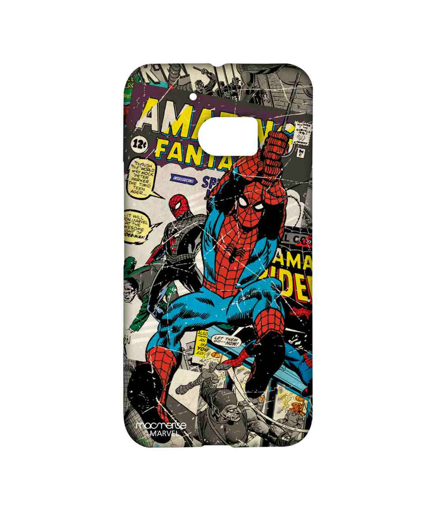 Comics Spiderman Comic Spidey Sublime Case for HTC 10
