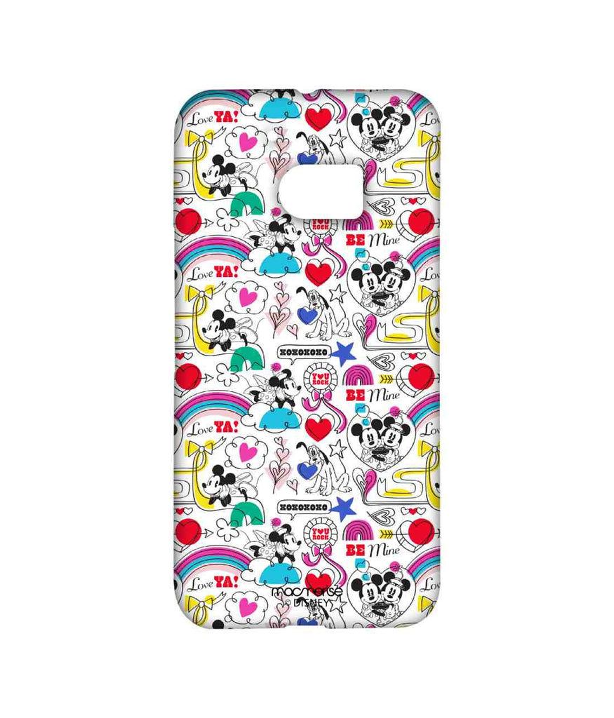 Disney Minnie Mouse and Mickey Mouse Forever Together Sublime Case for HTC 10